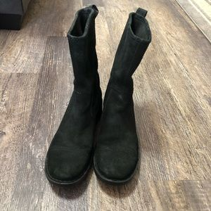 BORN Suede Leather Boots